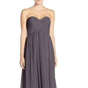 Donna Morgan Dresses - NWT Donna Morgan | Charcoal Formal Dress | Size 2